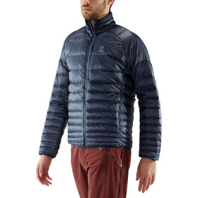 Haglöfs Essens Down Jacket Herr Dense Blue/Tarn Blue